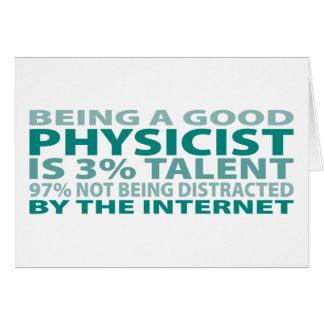 Cartes Talent du physicien 3%