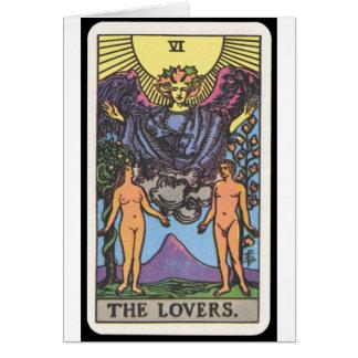 Cartes Tarot : Les amants
