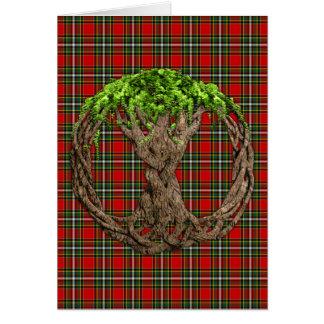 Cartes Tartan de Gillespie de clan et arbre de la vie