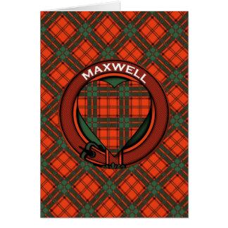 Cartes Tartan d'écossais de Maxwell