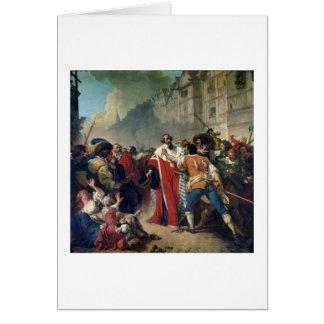 Cartes Taupe de Mathieu arrêté par la foule parisienne o