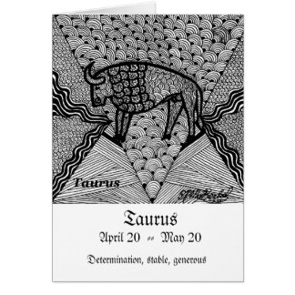 Cartes Taureau (signe de zodiaque)