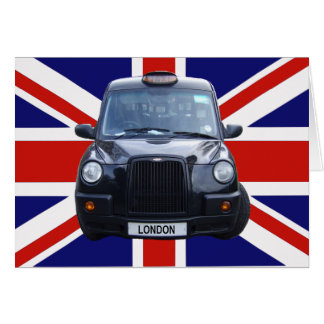 Cartes Taxi noir de Londres