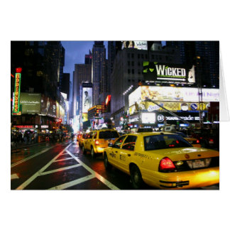 Cartes Taxis sur Broadway