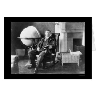 Cartes Teddy Roosevelt dans le repos 1908