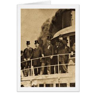 Cartes Teddy Roosevelt sur le cru de Tashmoo de vapeur