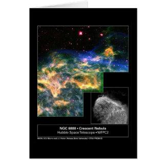 Cartes Télescope en croissant de Hubble de la nébuleuse