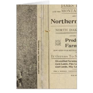 Cartes Terre Grant du Dakota du Nord