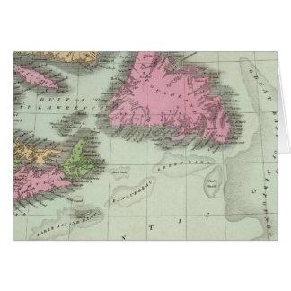 Cartes Terre-Neuve la Nouvelle-Écosse et le Nouveau