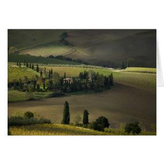 Cartes Terres cultivables autour de Montepulciano,