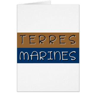 Cartes Terres marines
