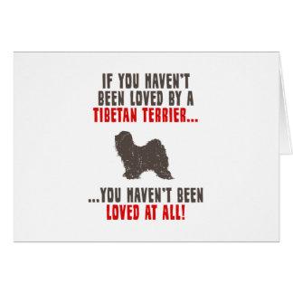 Cartes Terrier tibétain