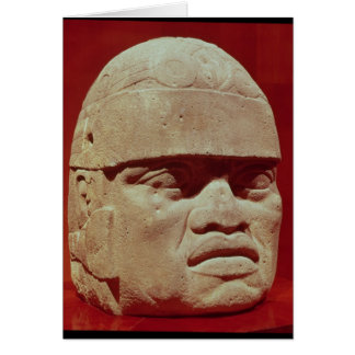 Cartes Tête colossale, Olmec