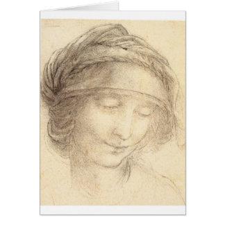 Cartes Tête de saint Anne