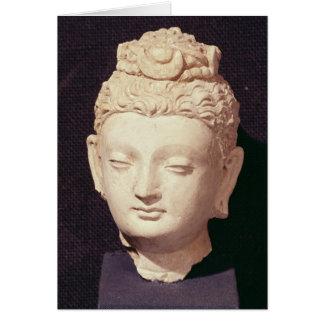Cartes Tête d'un Bouddha, style Greco-Bouddhiste
