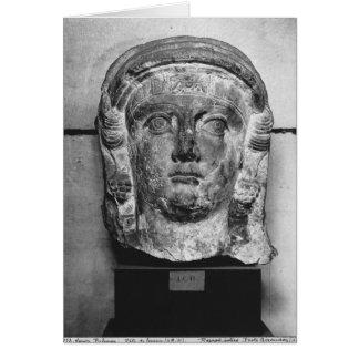 Cartes Tête d'une dame de Palmyra, ANNONCE de siècle de