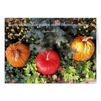 Cartes Thanksgiving
