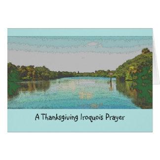 Cartes Thanksgiving Iroquois