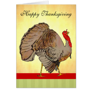 Cartes Thanksgiving polychrome Turquie