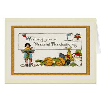 Cartes Thanksgiving vintage