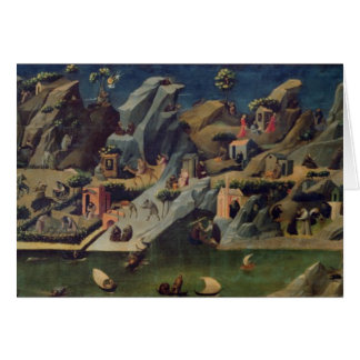 Cartes Thebaid, c.1410 (tempera sur le panneau) (voyez