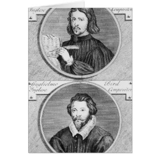 Cartes Thomas Tallis et William Byrd