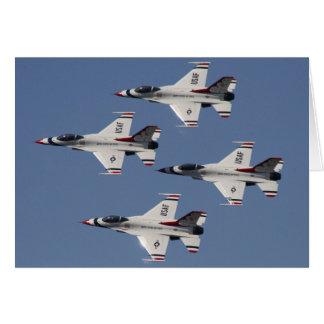 Cartes Thunderbirds de F-16 de l'U.S. Air Force