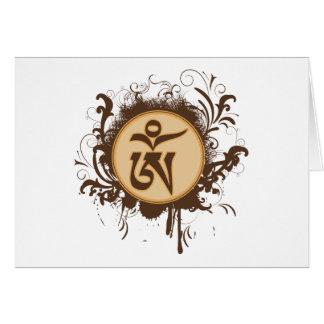 Cartes Tibétain OM