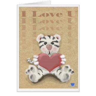 Cartes Tigre blanc