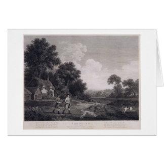 Cartes Tir, plat 2, gravé par William Woollett (1