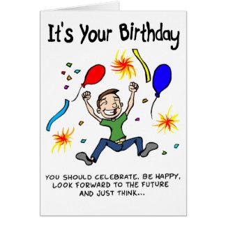 Cartes Tirez le meilleur de votre anniversaire