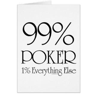 Cartes Tisonnier de 99%