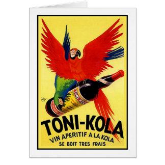 Cartes Toni-Cola