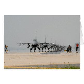 CARTES TONNERRE F-16