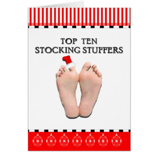 Cartes Top Ten stockant des Stuffers