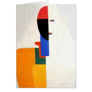 Cartes Torse de femme de Kazimir Malevich-