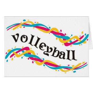 Cartes Torsions de volleyball