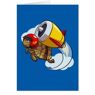 Cartes Tortue de vol de casse-cou avec une bande dessinée