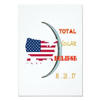 Cartes totales d'invitation de partie d'éclipse