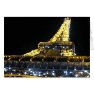 Cartes Tour d'Eifel la nuit
