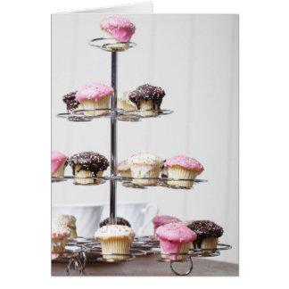 Cartes Tour des petits gâteaux ou des gâteaux de petit