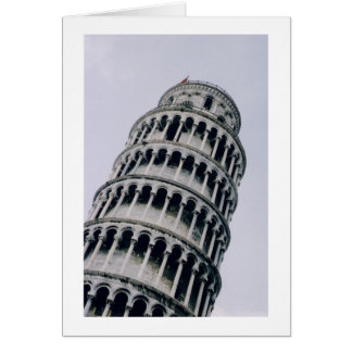 Cartes Tour penchée de Pise, Italie