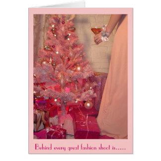 Cartes Tours roses de pain grillé de Noël à la réalité