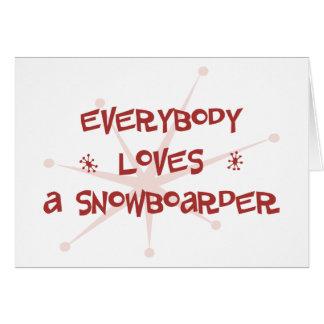 Cartes Tout le monde aime un surfeur