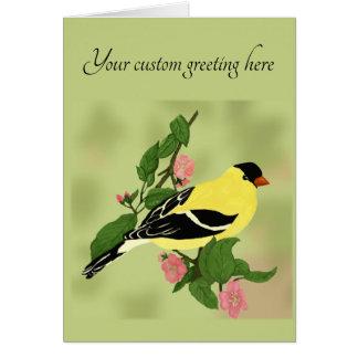Cartes Tout oiseau de chardonneret d'occasion