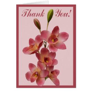 Cartes Toute la note de Merci de fleur d'occasion