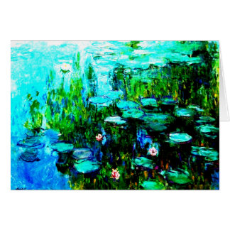 "Cartes Toute l'occasion Monet ""Nympheas """