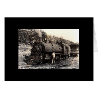 Cartes Train de Cru-Vapeur Carte-Toute occasion