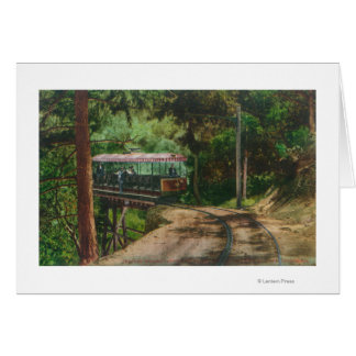 Cartes Train par CanyonMt en bois. Lowe, CA