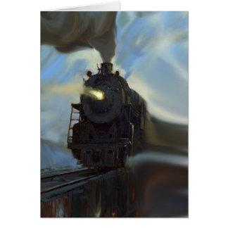 Cartes Train reflété